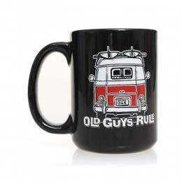 Old Guys Rule Good Vibrations Mug