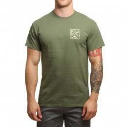Old Guys Rule Scenic Route Tee Military Green