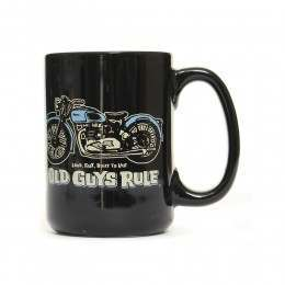Old Guys Rule Triumph Mug Black