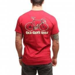 OLD GUYS RULE CRANKY TEE Cardinal Red