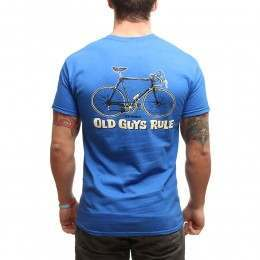 OLD GUYS RULE CRANKY TEE Royal Blue