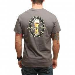 Old Guys Rule Still Crazy Tee Charcoal