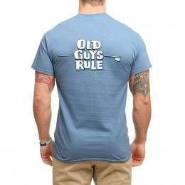 OLD GUYS RULE LONGBOARD LINES TEE Indigo Blue