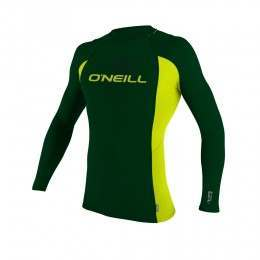 ONEILL YOUTH SKINS L/S RASH VEST 2015 Combat