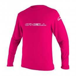 ONeill Youth Basic Skins Long Sleeve Rash Tee Melo
