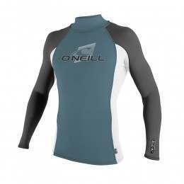 ONeill Skins Long Sleeve Turtleneck Rash Vest Blu