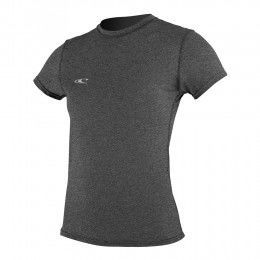 ONeill Womens Hybrid Short SLeeve Surf Tee Graph