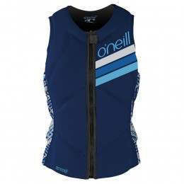 ONeill Womens Slasher Comp Impact Wakeboard Vest Navy
