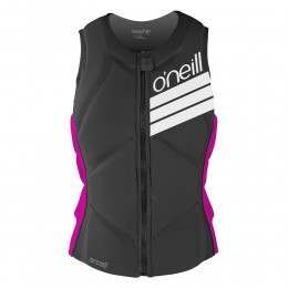 ONeill Womens Slasher Comp Impact Wakeboard Vest Black