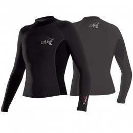 ONEILL WMS THERMO-X L/S CREW Blk