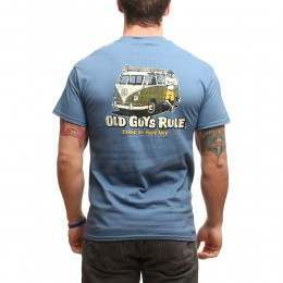 OLD GUYS RULE STAND BY YOUR VAN TEE Indigo Blue