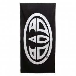 Animal Beach Towel Black
