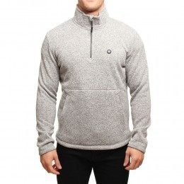 OXBOW LIATHA 1/2 ZIP FLEECE Grey