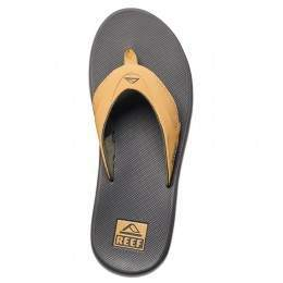 Reef Fanning Sandals Charcoal/Tan