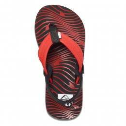 Reef Boys Ahi Sandals Red Shark
