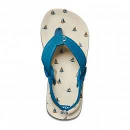 Reef Boys Ahi Sandals Mint Boat