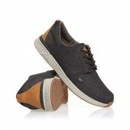 Reef Rover Low TX Shoes Black/Denim