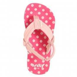 Reef Girls Little Ahi Sandals Pink Polka Dot