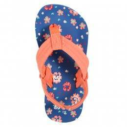Reef Girls Little Ahi Sandals Blue Floral