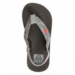 Reef Boys Ahi Light Up Sandals Red/Grey