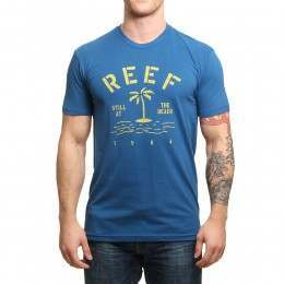 Reef Route Tee Blue