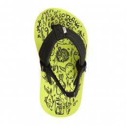 Reef Boys Grom Footprints Sandals Green