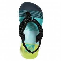 Reef Boys Ahi Sandals Aqua/Green
