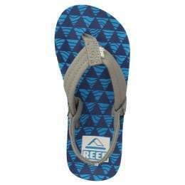 REEF BOYS AHI SANDALS Blue/Blue Stacked
