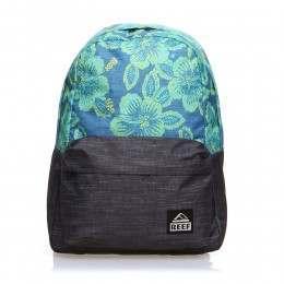 Reef Moving On Backpack Blue Floral