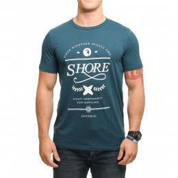 SHORE CLASSIC BOARDS TEE Teal
