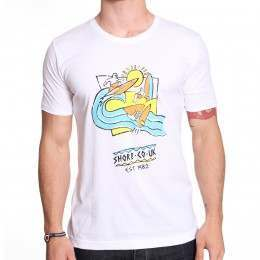 SHORE 30 YEARS TEE White