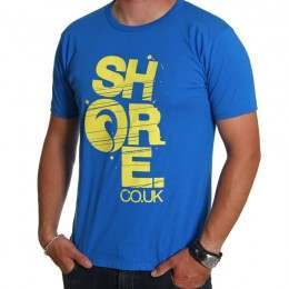 SHORE TEE Blue/Yellow
