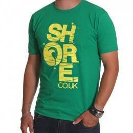 SHORE TEE Green/Yellow