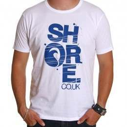 SHORE TEE White/Blue