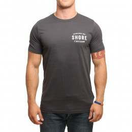 SHORE SECRET TEE Dark Grey