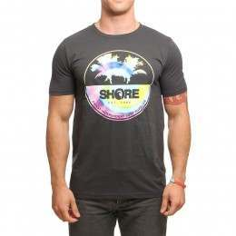 SHORE TIE DYE CIRCLE TEE Dark Grey