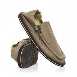 Sanuk Vagabond Sidewalk Surfers Brown
