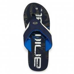 Animal Boys Jekyl Logo Sandals Snorkel Blue