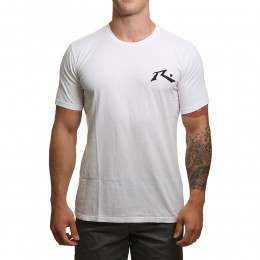 Rusty Competition Tee White
