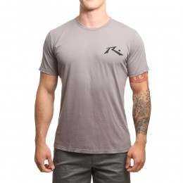 Rusty Competition Tee Stone Grey