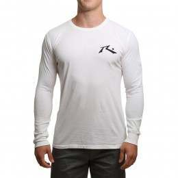 Rusty Competition Long Sleeve Top White