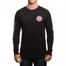 Rusty Mayan 3 Long Sleeve Top Black