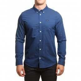 RVCA That'll Do Oxford Shirt Lapis