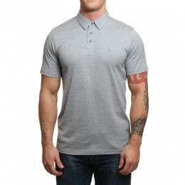 Volcom Wowzer Polo Shirt Ash Blue