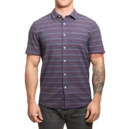 Volcom Sable Shirt Deep Blue