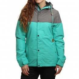 Volcom Bolt Insulated Snow Jacket Teal Green