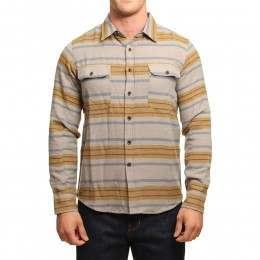 Vissla Mirror Lake Flannel Overshirt Chino