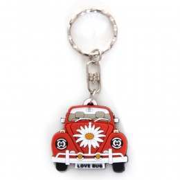 V DUB BEETLE FRONT KEYRING Orange