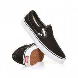 Vans Classic Slip On Shoes Black