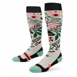 STANCE CAMPVIBES SNOW SOCKS White